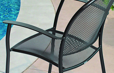 ... Mixed Materials; Recycled; Teak; Woven; Wrought Iron