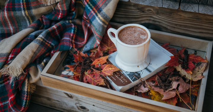 warm hot chocolate