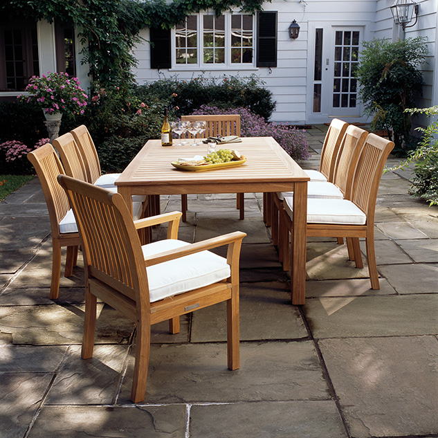 Kingsley Bate Chelsea Dining Summer House Patio