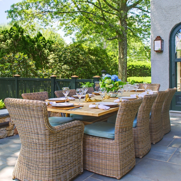 kingsley bate sag harbor outdoor dining collection