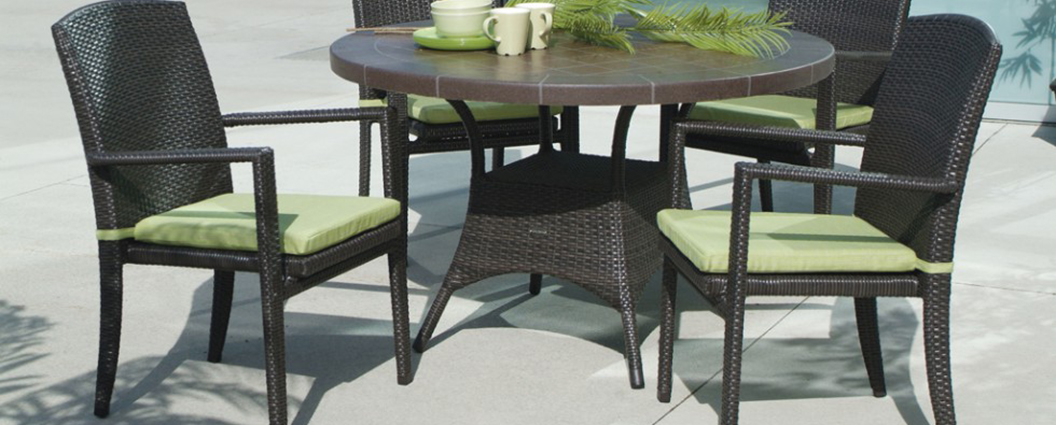 Ratana new miami lakes dining summer house patio Ratana outdoor furniture