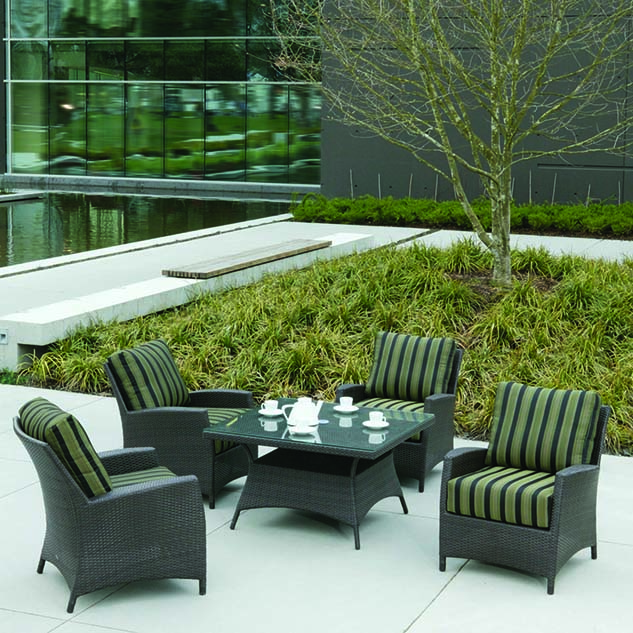 Ratana palm harbor seating summer house patio Ratana outdoor furniture