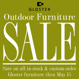 Gloster patio furniture sale summer house patio for Summer patio furniture sale