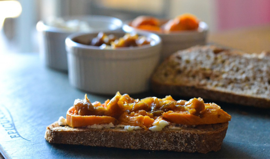 Sweet Potato Toast - a great addition to a Harvest Party
