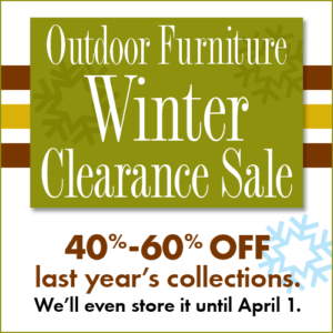 Winter Clearance Sale Summer House Patio