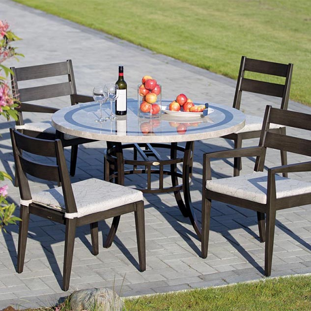 Ratana lucia summer house patio Ratana outdoor furniture