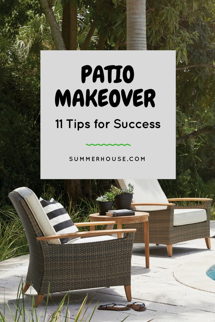 11 Patio Makeover Tips