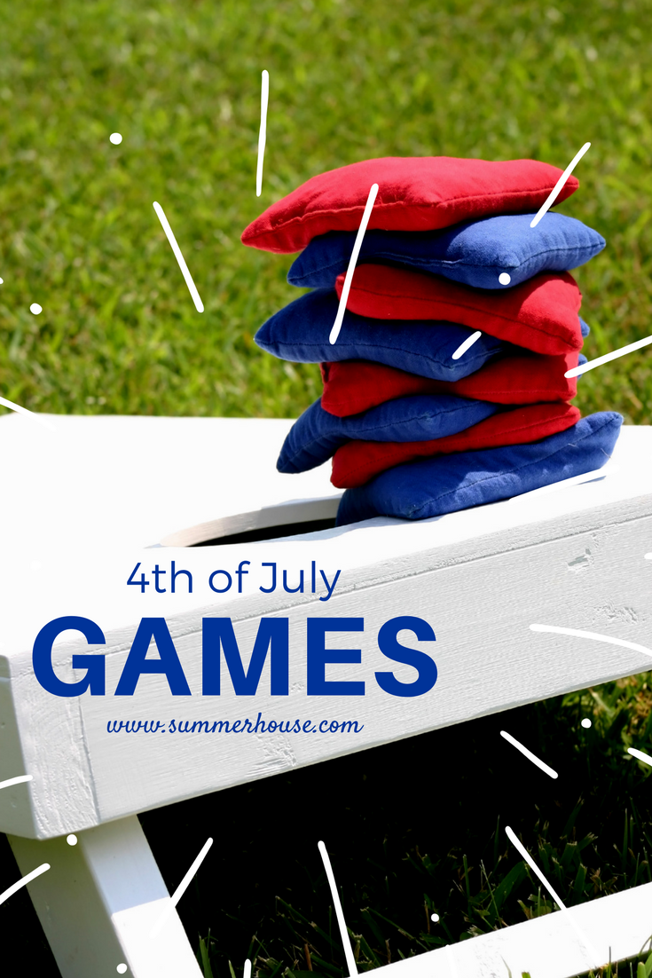 Outdoor games perfect for the 4th of July