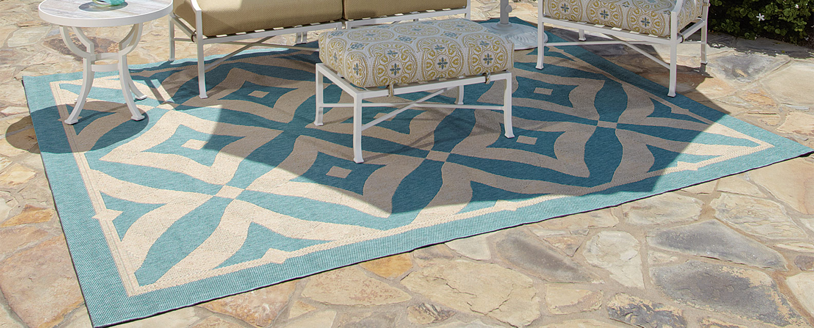 Treasure Garden Rugs Summer House Patio