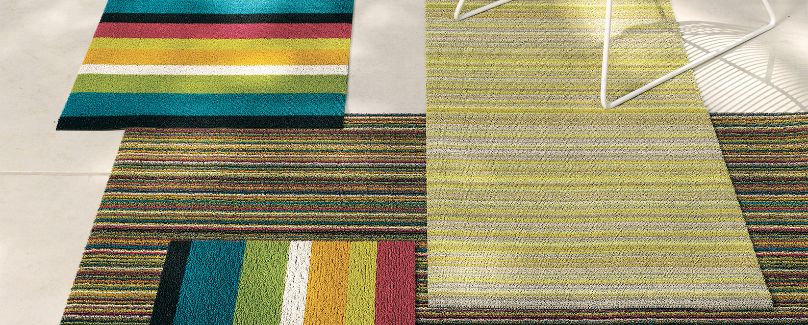 photo of shag floors mats skinny stripe floor indoor colors chiliwich in rugs mat outdoor x chilewich