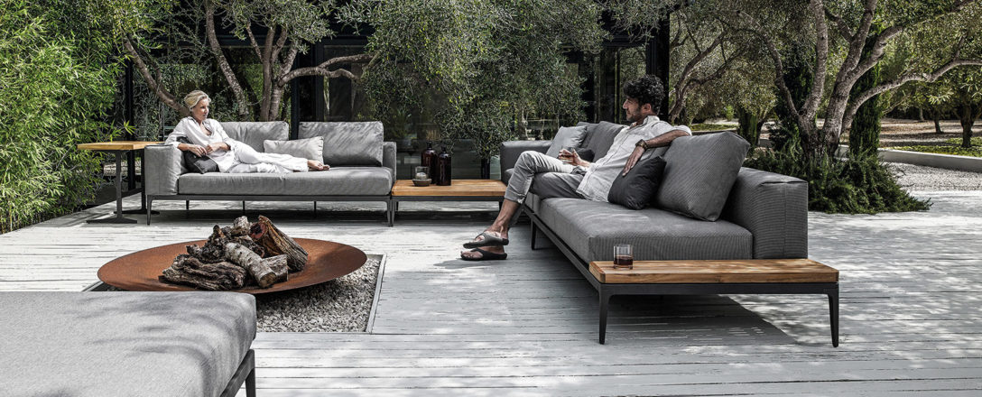 Gloster Grid Sectional - Gloster Patio Furniture Sale Summer House Patio