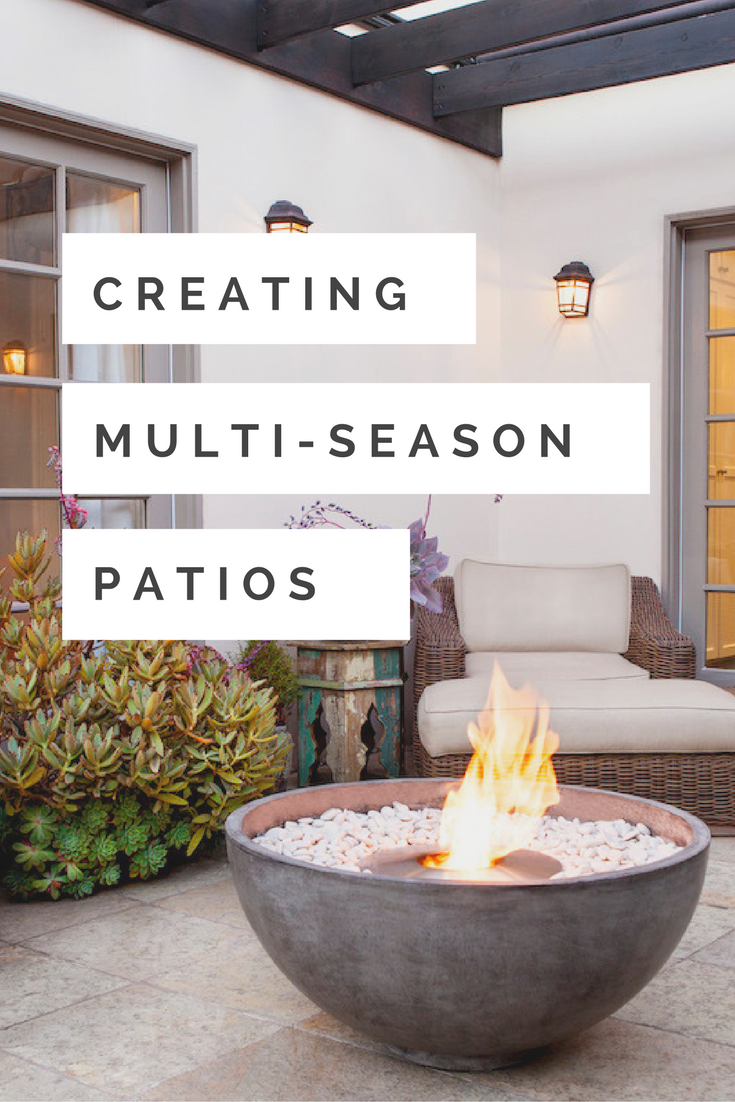 Do you love spending time outdoors? Is your patio a luxury retreat? Are you mourning the end of summer and the arrival of colder nights? You don't have to. With an outdoor fire pit you can enjoy your patio throughout the year.
