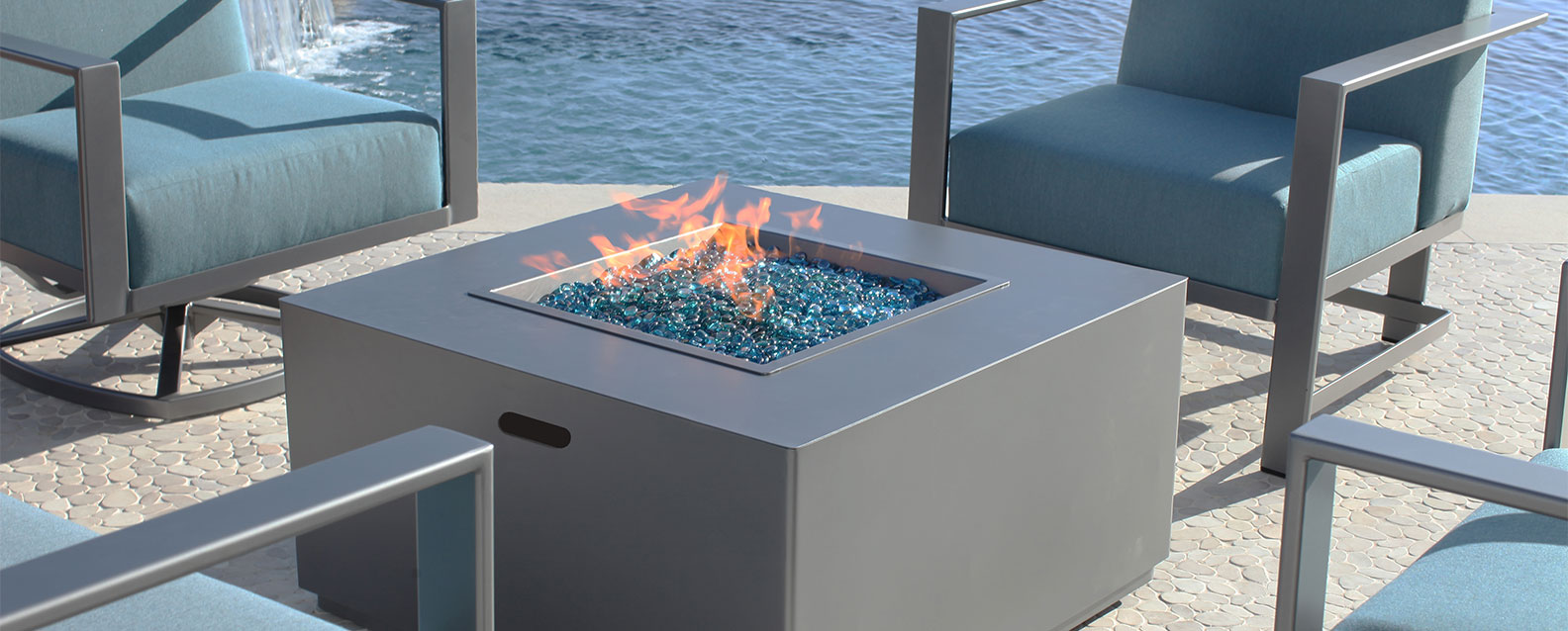 O. W. Lee Forma Fire Pit | Summer House Patio