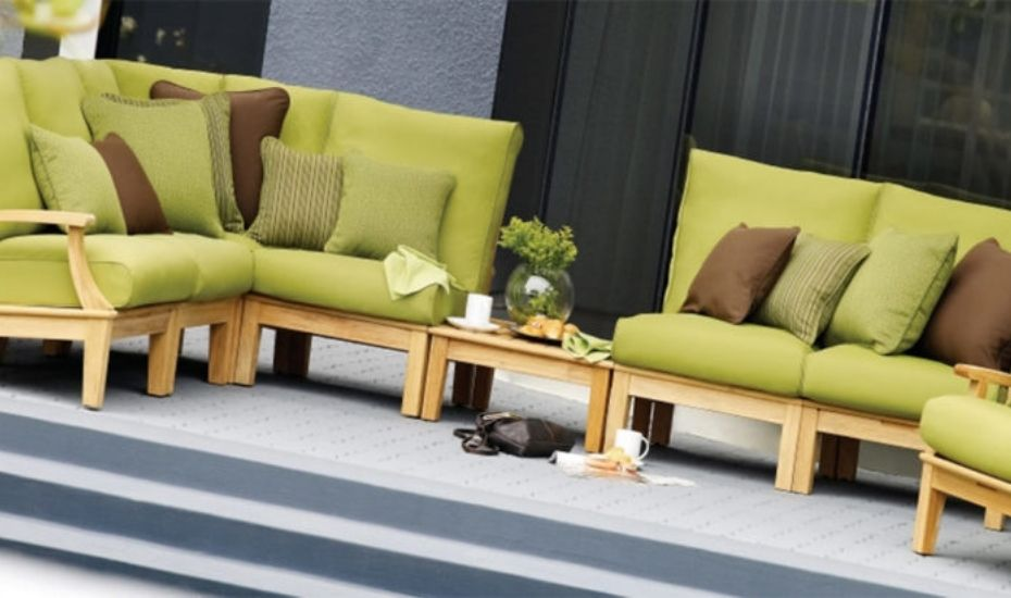 outdoor sectional sofa unit